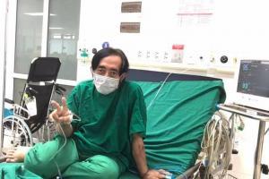 NS Giang Còi lên tiếng về tin đồn đang điều trị ở Bệnh viện Phổi Hà Nội